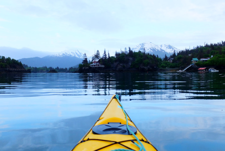 Luxury Travel Active Kayaking Alaska Gray & Co.