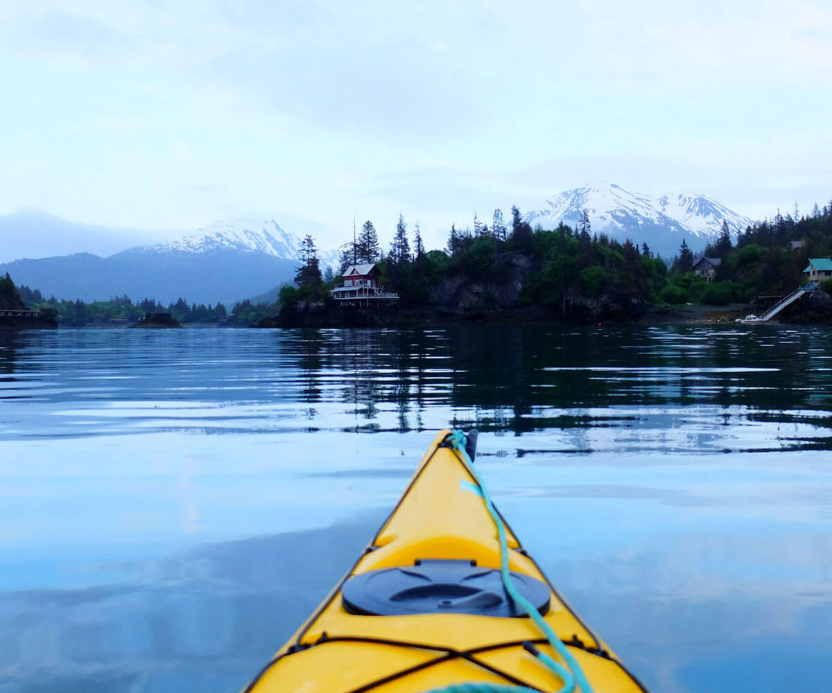 Kayaking Alaska USA Luxury Private Active Journeys