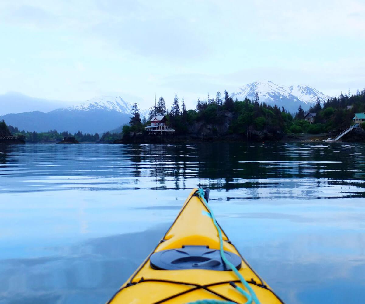 Kayaking Alaska USA Luxury Private Active Journeys
