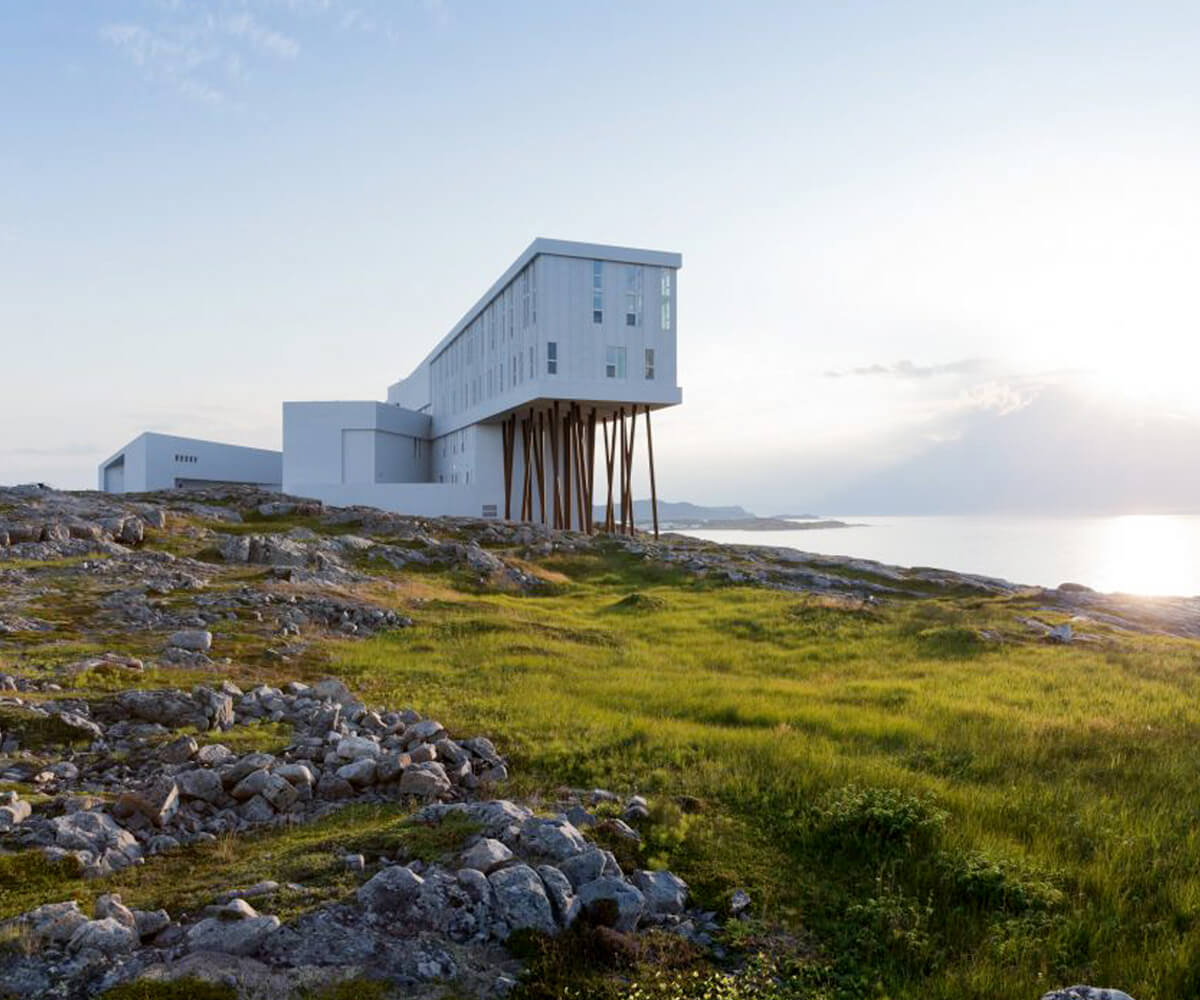 Fogo Island Inn Newfound Land Canada Luxury Private Active Journeys